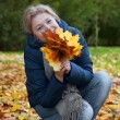 autumn girl — Stock Photo #39214427