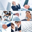 Business collage — Stock Photo #42235861