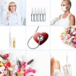 Stockfoto: Medicine collage