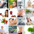 Stock Photo: Lifestyle collage
