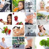 Lifestyle collage — Stock Photo