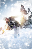 Snowtime — Stock Photo