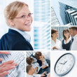 Business collection — Stock Photo