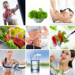 Stock Photo: Healthy mix