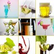 Stock Photo: Alcohol mix