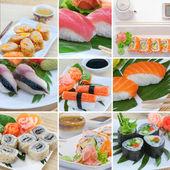 Sushi mix — Stock Photo