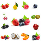 Berry theme mix — Stock Photo