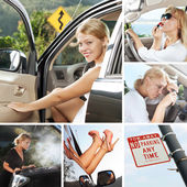 In car mix — Stock Photo