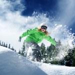 Snow time ride — Stock Photo #47581479