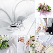 Wedding mix — Stock Photo