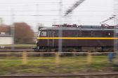 Train in move — Stock Photo