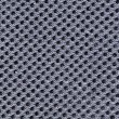 Seamless black fabric closeup background - Stock Photo