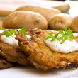 Royalty-Free Stock Photo: Potato pancake