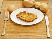 土豆饼 — 图库照片