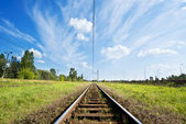 Railroad — Foto de Stock