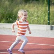Stock Photo: Running girl