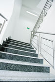 Staircase in office building — Stock Photo