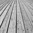 Wooden floor — Stock Photo