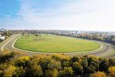 Horse racecourse — Stock Photo