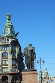 View of the Nevsky Prospekt — Foto de Stock