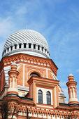 большой хоральной синагоги — Стоковое фото