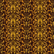 Royalty-Free Stock Imagen vectorial: Barocco Seamless Pattern Vector