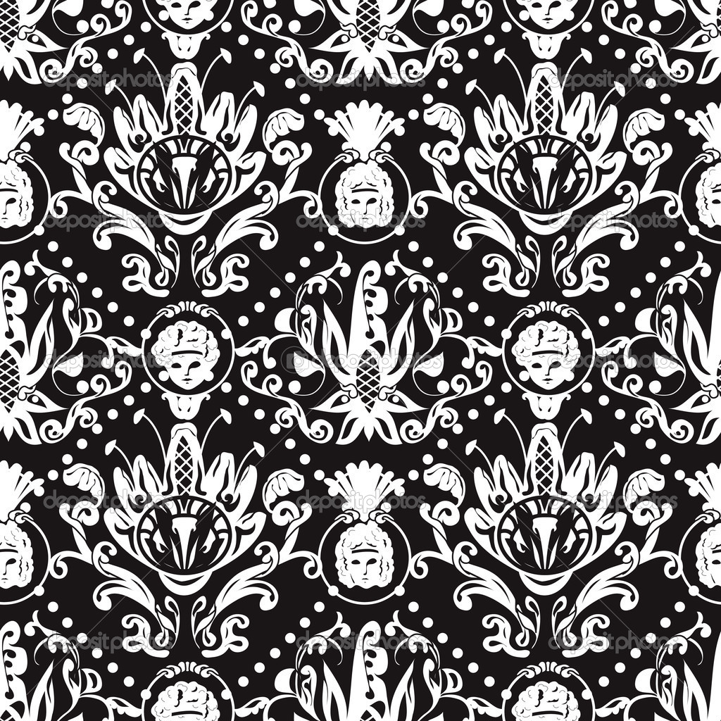Baroque Floral Seamless Baroque Pattern