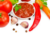 Keczup z warzyw i przypraw — Zdjęcie stockowe
