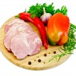 Stock Photo: Delicacy pork with pepper