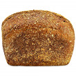 Rye bread sprinkled — Stock fotografie