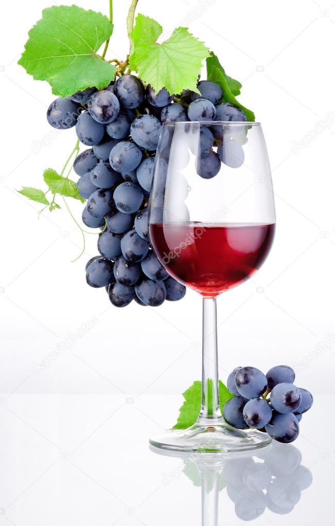 Resultado de imagen de fotos de copas de vino y uvas