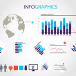 Infographics — Vector de stock #13914020