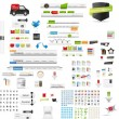 Designers toolkit - large web graphic collection — Stock Vector #13914086