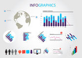 Infographics — Vetorial Stock