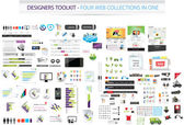 Designers toolkit - Four web collections in one — Vecteur