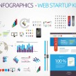 Web graphic collection - start up graphics — Imagen vectorial