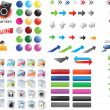 Mixed icons — Stock Vector #3052069
