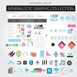 Minimalistic web graphics — Stock Vector