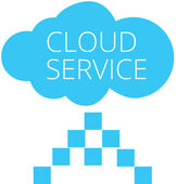 Cloud services — Stock Vector