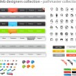 Web designers toolkit - pathmaster collection — Stock Vector #4751490