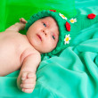 The newborn child — Stock Photo