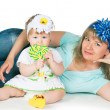 Royalty-Free Stock Photo: Mum and the daughter