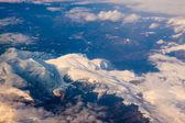 карпатские горы — Стоковое фото