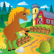 Royalty-Free Stock Vector Image: Horse theme image 4