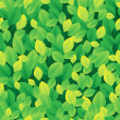 Stock Vector: Leafy seamless background 1
