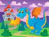 Dragon theme image 5 — Stock Vector