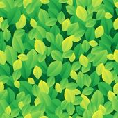 Leafy seamless background 1 — Stock Vector