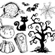 Halloween drawings collection 2 — Stock Vector #13127134