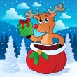 Reindeer theme image 7 — Stock Vector