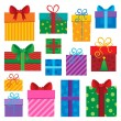 Image with gift theme 1 - Stock Vector